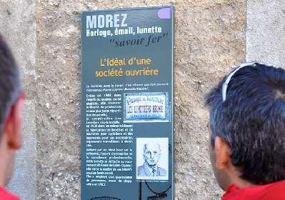 Circuit de découverte du patrimoine industriel de Morez